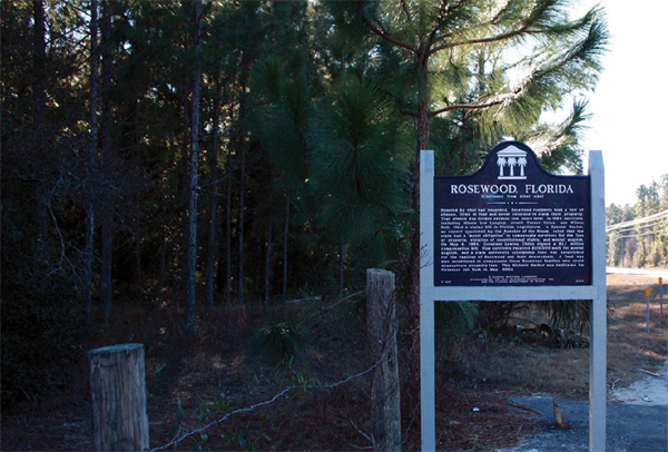 Rosewood Sign