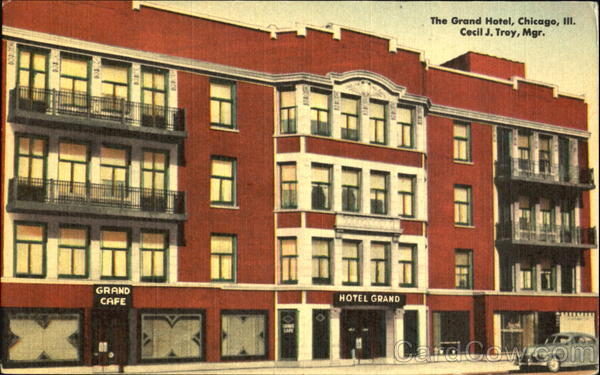 The Grand Hotel on South Parkway, Chicao