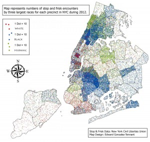 Mapping 2012 NYC Stop and Frisk Data
