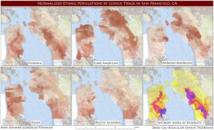 2010 San Francisco Population by Race